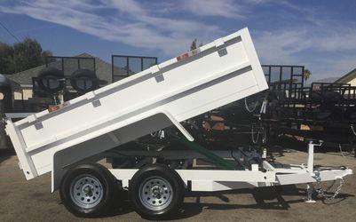 8x10x2 DUMP TRAILER (3.5K) for Sale in Arcadia,  CA