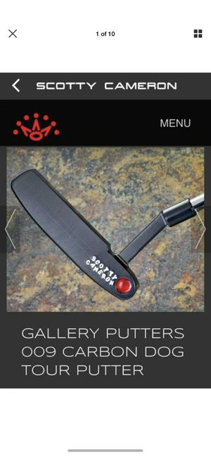 Scotty Cameron CT Circle T Carbon Dog 009 w/HC for Sale in Miami, FL