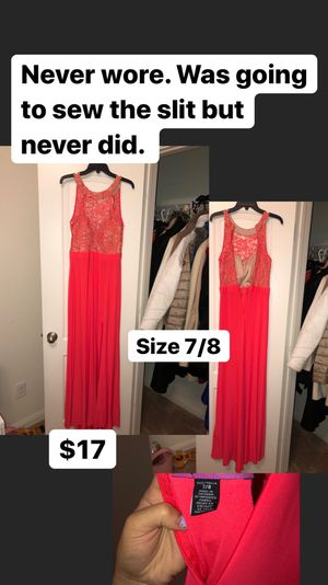 Coral party/ prom/ event dress. for Sale in Fort Worth, TX