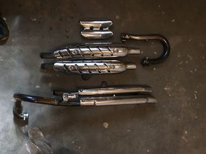 Triumph Scrambler 2014 Exhaust System for Sale in Chicago, IL