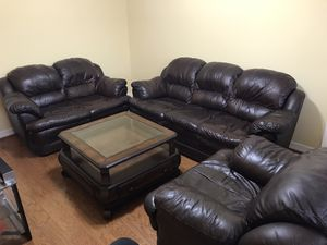 Sofa Set with Coffee Table for Sale in Houston, TX