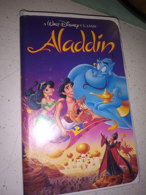 Classic addition alladin disney... its in decent condition for how old its is .. If u collect these classics message me..i have more for Sale in Los Angeles, CA