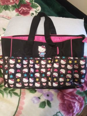 Hello kitty diaper bag for Sale in Fort Worth, TX