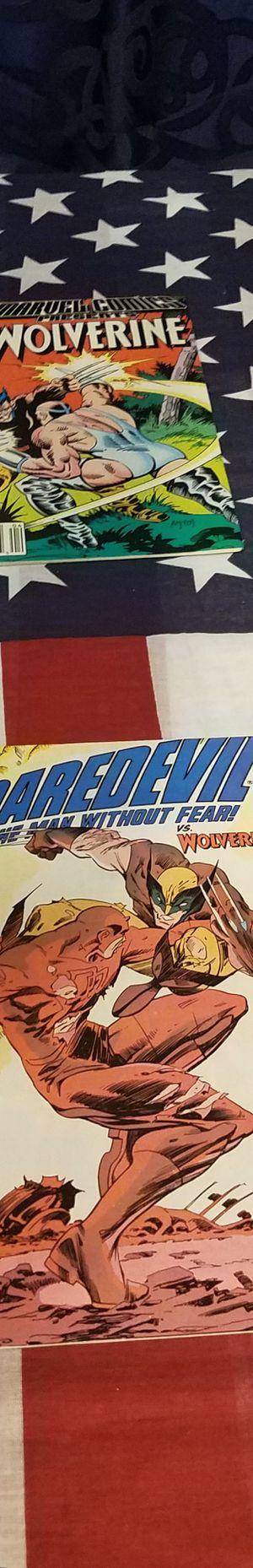 DAREDEVIL & WOLVERINE COMICS for Sale in Pomona, CA