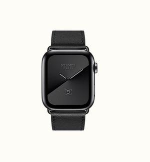 Hermes Apple watch 44mm series 5 noir for Sale in Minneapolis, MN