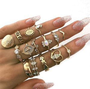 🤩✨✨15 Piece Set of Gold plated GORGEOUS Rings✨✨ for Sale in Houston, TX