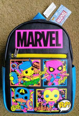 Funko Disney Marvel Target Exclusive Blacklight Backpack for Sale in El Mirage, AZ