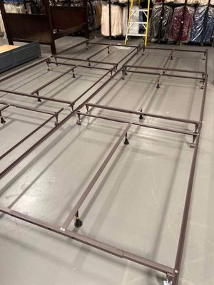 New metal bed frame king size (all sizes available for Sale in West Covina, CA