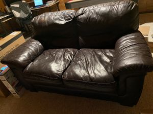 Leather couch, loveseat, sofa for Sale in Herndon, VA