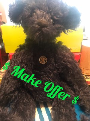 Knickerbocker jointed toy collectible bear for Sale in Houston, TX