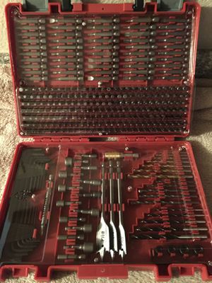 300 piece drill and driver set BRAND NEW not used. for Sale in Port Richey, FL