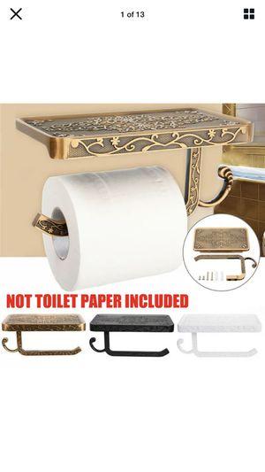Toilet Tissue Holder / Cell phone Shelf for Sale in Suffolk, VA