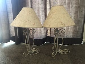 SET OF LAMPS for Sale in Costa Mesa, CA