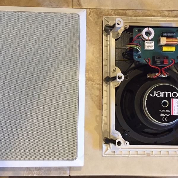 (2) Large Size Jamo In-Wall Speakers