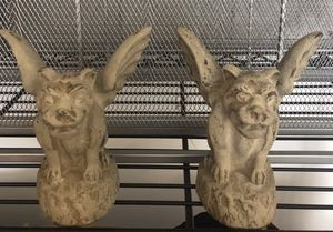 Gargoyle Candle Holders from Notre Dame for Sale in Pimmit Hills, VA