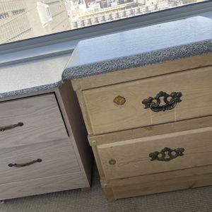 Dressers Drawers Organizers $20 Each Or $30 For Both for Sale in San Francisco, CA