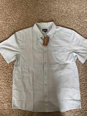 Patagonia Men's Fezzman Atoll Blue Shirt - Size M for Sale in La Habra Heights, CA