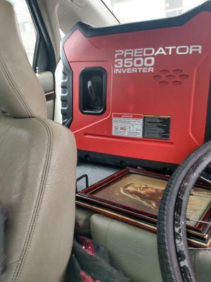 3,500 watt predator inverter generator for Sale in Redwood City, CA