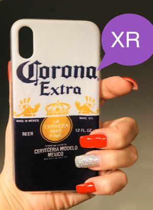 Brand new cool iphone XR case cover rubber mens guys hypebeast hype swag for Sale in San Bernardino, CA