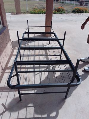 Two twin bed frames for Sale in Tolleson, AZ