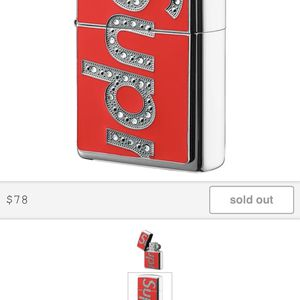 Supreme Swarovski Zippo for Sale in Fairfax, VA