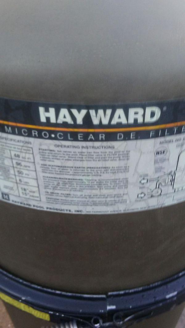HAYWARD DE Pool Filter Assembly