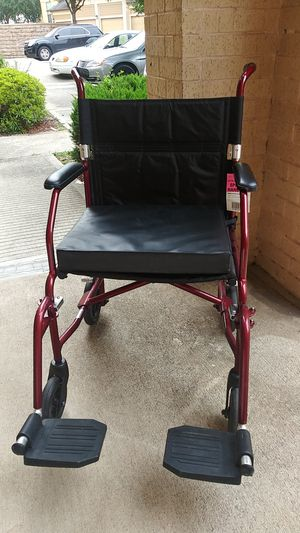 Sturdy transport wheelchair for Sale in Houston, TX