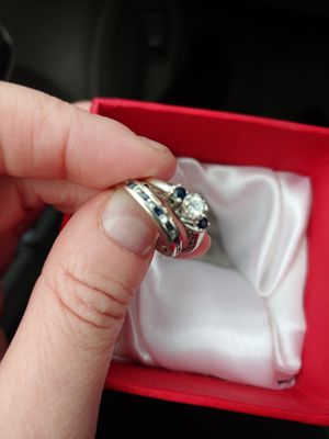 Engagement ring and wedding band for Sale in Mansfield, OH