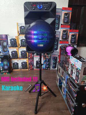 "Bosina Nueva Bluetooth !!! Profesional Bluetooth Speaker 15"" ! Rechargeable 🔋+++ Usb / Aux / Fm Radio for Sale in Los Angeles, CA"