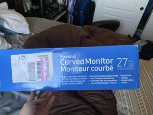 27' Samsung curve monitor for Sale in El Mirage, AZ