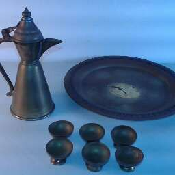 Free Miniature Brass Tea Set for Sale in West Palm Beach, FL