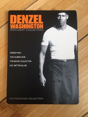 Denzel Washington Collection of Movies NEW! for Sale in Baltimore, MD