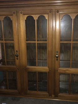Vintage China Cabinet for Sale in Oakland,  CA