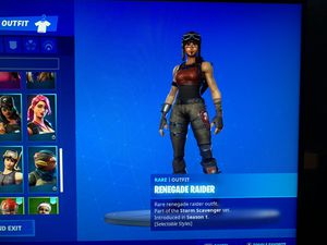 Fortnite renegade raider acct for Sale in Los Angeles, CA