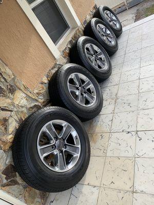 2020 Jeep Wrangler Rims wheels with Bridgestone tires. Fits all wrangler 2007 to 2020. for Sale in Doral, FL