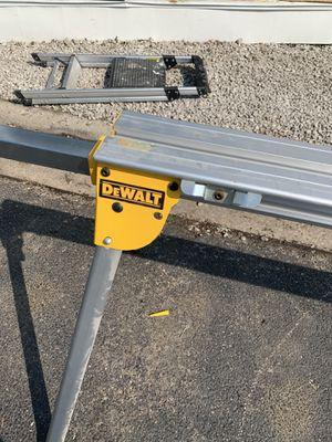 Dewalt miter saw table for Sale in Oak Lawn, IL