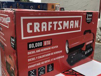 Craftsman 80,000 BTU Heater for Sale in Umatilla,  FL