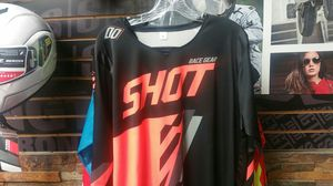 DIRT BIKE JERSEY NEW BLACK ORANGE XL ALL RIDER GEAR for Sale in Coronado, CA