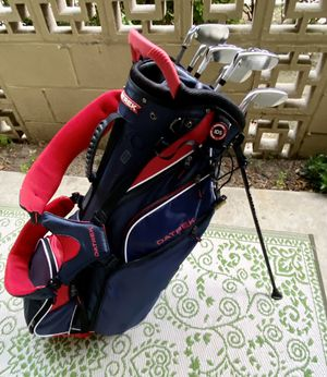 NEW Datrek golf bag PLUS 2019 Lady (Tour) Edge Hybrid and Irons (Right handed) for Sale in Los Angeles, CA