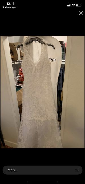 Trudys size 14 Wedding dress for Sale in San Jose, CA