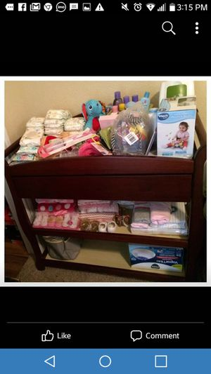 Changing table w drawer for Sale in Houston, TX