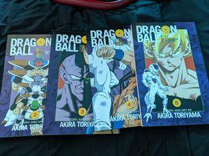 Dragon Ball Z Full Color Manga Vol 2,3,4,5 for Sale in Pomona, CA
