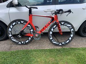 Giant Trinity Composite (M) Tri TT bike for Sale in West Linn, OR