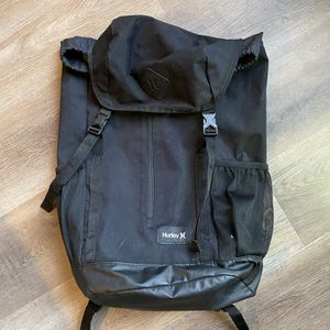 Hurley Black Backpack Travel Bag for Sale in Bloomington, IL
