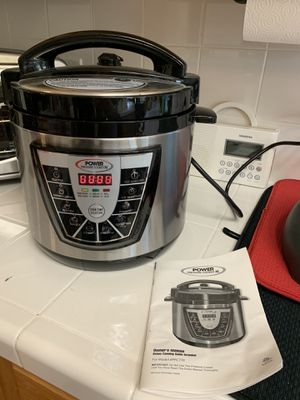 NEVER USED Power Pressure Cooker XL for Sale in Houston, TX