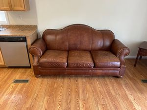 Leather Couch for Sale in Morgantown, WV