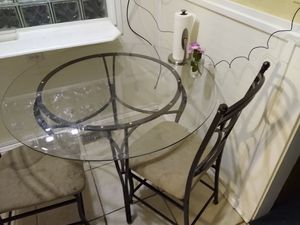 Dining room table and 2 chairs for Sale in Independence, MO