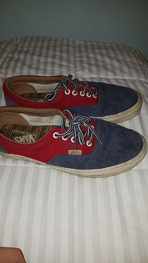 Vans suede and corduroy red and blue for Sale in Austin, TX