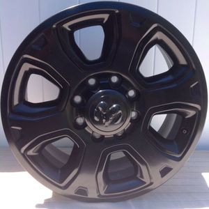 "4 OEM 20"" Ram 2500 Black Rims (Like New) for Sale in Las Vegas, NV"