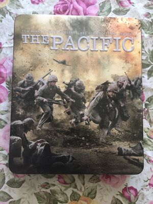 The Pacific on Blu Ray in Tin for Sale in Dartmouth, MA